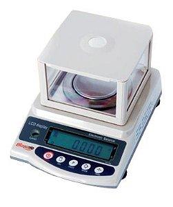 Balança de Precisão Microprocessada Digital, Capacidade até 1200g, Centesimal (0,1), Bivolt, mod.: BL-1200AS-BI (Bioscale)