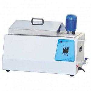 Banho Maria Microprocessado, 16 litros, temperatura até 120ºC, 110V.. Mod. Q215M1 (Quimis)