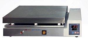Chapa Aquecedora com Aquecimento até 300ºC, 40x30cm, 220V, mod.: DB-IVA-220V (Ion)
