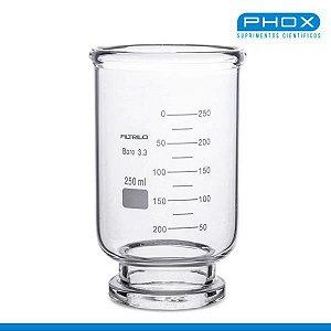 Copo de Vidro Graduado de 300 mL, unidade, mod.: 25005-CV (Phox)