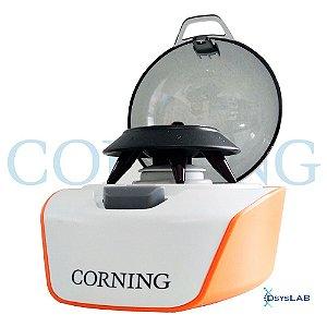 Mini Microcentrifuga, velocidade fixa de 6000rpm, 100-240V, mod.: 6770 (Corning)