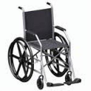 Cadeira de Rodas Clean Grafite Assento 41 cm altura, Encosto 40 cm, mod.: R014916 (FREEDOM)