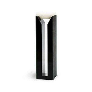 Cubeta vidro optico com 2 faces polidas, laterais escuras, 1,4 ml, passo 10 mm, mod.: K28-114-G (Kasvi)