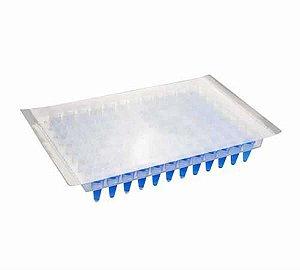 Filme Selador para Microplaca de PCR 96 poços, caixa com 100 unidades, mod.: K8-6000 (Kasvi)