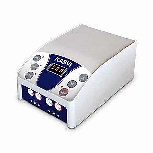 Mini Fonte de Eletroforese para 2 a 4 Cubas, Sistema Crossover, 60 w, 50/60hz, Tela Led, tensão de saída 10 a 500 v, bivoltt, mod.: K33-500M (Kasvi)