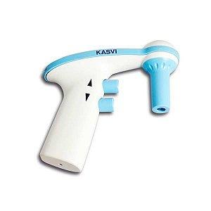 Pipetador Automático de 0,1 a 100 mL (tipo AID), Corpo em ABSe Cone em PP, Filtro PTFE 0,45um, Bivolt, mod.: K1-AID-B (Kasvi)