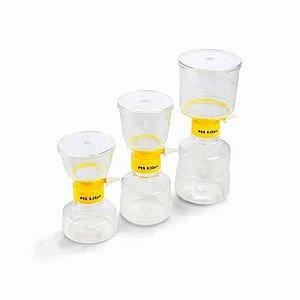 Sistema de Filtração à Vácuo em ABS, 250 ml, Membrana PES 0,22um, Unidade, mod: K15-1250 (Kasvi)