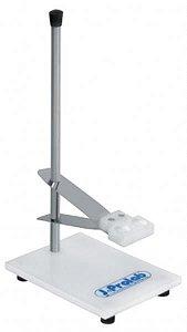 Suporte para Eletrodo de PH, base em polipropileno, haste em aço e altura ajustável, mod.: 2807-9 (J.Prolab)