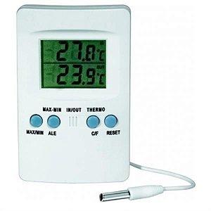 Termômetro digital máxima e mínima SH102 com selo inmetro, mod.: 1566-3 (J.Prolab)