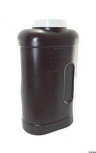 Coletor Urina 24 Horas 2 litros, Com Selo Vedação, Frasco Âmbar e Tampa Amarela, Graduado, unidade, mod.: 0635-3 (J.Prolab)