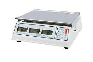 Balança Eletrônica Computadora LCD, Capacidade para 15 kg, precisão 5g, mod.: BCW 15 (Welmy)