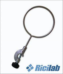 Anel de Aço Inóx com Mufa, 07 cm, mod.: RIC004-07 (Ricilab)