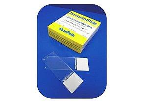 Lâmina silanizada carregada positivamente, ImmunoSlide, Caixa com 72 unidades, mod.: EP-51-30185 (Easypath)
