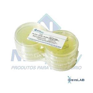 Agar Plate Count (PCA), em placa de petri 90x15mm, Pacote com 10 placas, mod.: PA22 (Newprov)