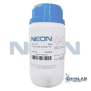 Bicarbonato de Sódio P.A., Frasco com 250 gramas, mod.: 01715 (Neon)