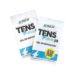 Gel de reposição TENS Alívio Já Plus, Pacote com 1 par, mod.: TNGELUN (G-tech)
