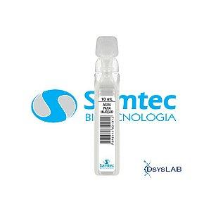 Água destilada, ampola com 10 mL, mod.: AGUINJ010ML214 (SAMTEC)