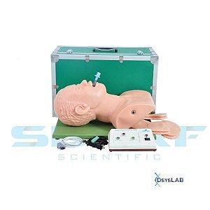 Simulador de intubação adulto eletrônico, mod.: SD4005 (Sdorf)