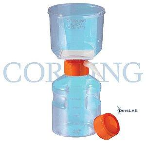 Sistema de Filtração à vácuo completo, 500mL, Membrana PES 0,22um, 63mm, unidade, mod.: 431097-UND (Corning)