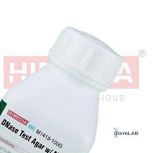 Agar Teste DNase Base com Verde de Metila (DNase Test Agar w/ Methyl Green), Frasco com 100 gramas. mod.: M1419-100G (Himedia)