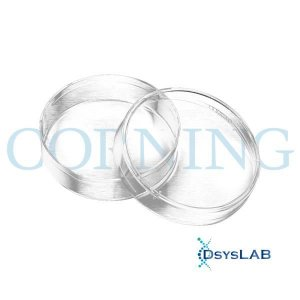 Placa Cultura Celular, 100mm, superfície tratada, estéril, pacote com 20 unidades, mod.: 430167-PCT (Corning)