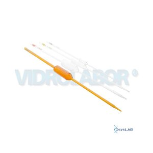 Pipeta volumétrica 1 traço esgotamento, Classe A, Capacidade de 50 ml, mod.: 75487A00050 (Vidrolabor)