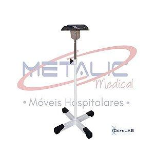 Suporte de braço com 4 pés, altura regulável, pintado, unidade, mod.: MT500 (Metalic Medical)