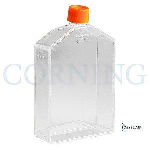 Frasco para cultivo de células T225, tampa sem filtro, superfície TCT, Pacote com 5 unidades, mod.: 431081-PCT (Corning)