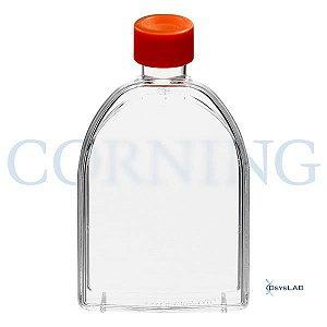Frasco para cultivo de células T75, tampa sem filtro, superfície TCT, Pacote com 5 unidades, mod.: 430720U-PCT (Corning)