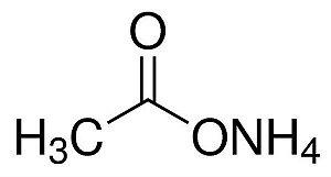 Acetato de Amônio P.A./ACS, CAS 631-61-8, Frasco com 500 gramas, mod.: 00011 (Neon)