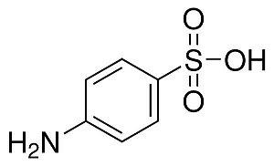 Ácido Sulfanílico P.A., Frasco com 100 gramas, mod.: 00344 (Neon)