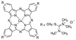Azul de Alcian (C.I. 74240), CAS 33864-99-2, Frasco com 25 gramas, mod.: 4176 (Neon)