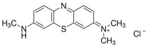 Azure B (C.I. 52010), CAS 531-55-5, Frasco com 25 gramas, mod.: 4266-DSYS (Neon)