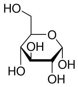 D-(+)-Glicose Anidra P.A., Frasco com 500 gramas, mod.: 01466 (Neon)