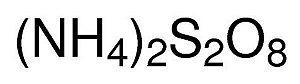 Persulfato de Amônio P.A., CAS 7727-54-0 , Frasco com 1000 gramas, mod.: 01993 (Neon)