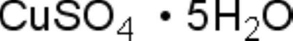 Sulfato de Cobre II Pentahidratado P.A., CAS 7758-99-8, Frasco com 1000 gramas, mod.: 02222 (Neon)