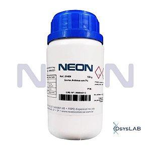 Goma Arábica em Pó, CAS 9000-01-5, Frasco com 100 gramas, mod.: 01484 (Neon)
