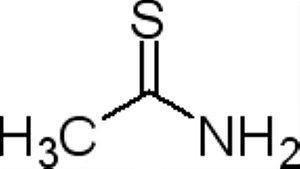 Tioacetamida P.A./ACS, CAS 62-55-5, Frasco com 50 gramas, mod.: 02816 (Neon)