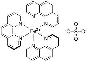 Solução Ferroína 0,025M, CAS 14634-91-4, Frasco com 50 ml, mod.: 01274 (Neon)