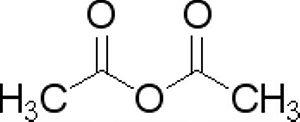 Anidrido Acético P.A., Frasco com 1000 ml, mod.: 02605 (Neon)