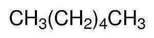 Hexano P.A., Frasco com 1000 ml, mod.: 01512 (Neon)