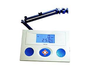 pHmetro de Bancada com calibração automática para pH, mV (ORP) e Temperatura, mod.: PHS-3E-BI (Satra)