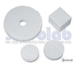 Papel de Filtro Qualitativo, 250 gramas, 5,5 cm diâmetro, pacote c/100 folhas, mod.: 3016-4 (J.Prolab)