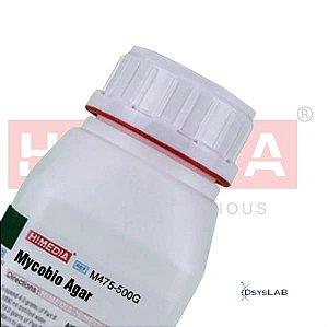 Agar Fungobiótico (Mycobio/Mycosel Agar), Frasco com 500 gramas. mod.: M475-500G (Himedia)