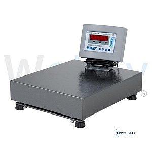 Balança Eletrônica Comercial, Plataforma de 34x39cm, Capacidade até 200 kg, mod.: W 200 (Welmy)
