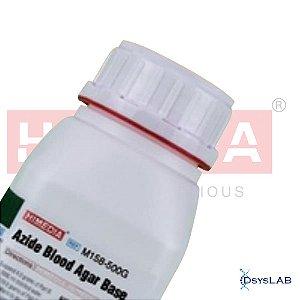 Agar Azida Sangue Base, Frasco com 500 gramas, mod.: M158-500G (Himedia)