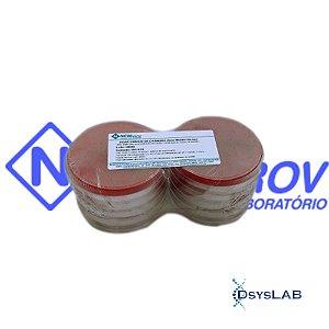 Agar Sangue de Carneiro (Base Muller Hinton) em Placa de Petri 90x15mm, Pacote com 10 unidades, mod.: PA29 (Newprov)
