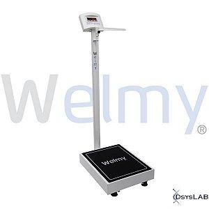 Balança Eletrônica Adulta plataforma 34x39m, 200 kg W200A (Welmy)
