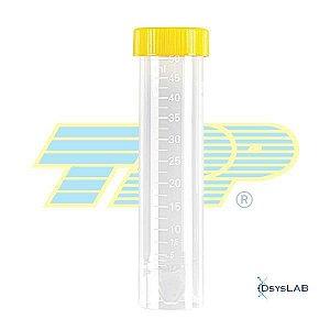 Tubo de Centrifugação Tipo Falcon, 50 mL, Estéril, Autossustentável, pacote com 20 unidades, mod.: 91051-PCT (TPP)
