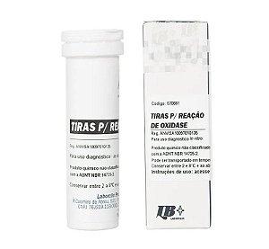 Tira de oxidase, Frasco com 10 tiras, mod.: 570661 (Laborclin)